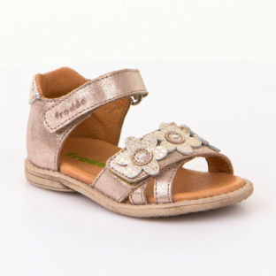 Froddo Childrens Shoes G2150082-3 Gold Sandals